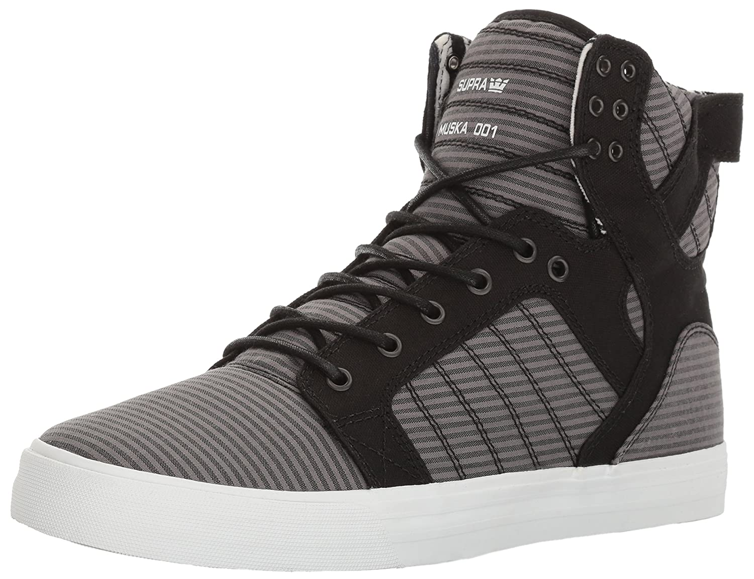 Supra Men's Skytop B01M59CSKD 11 M US|Black / Grey - White