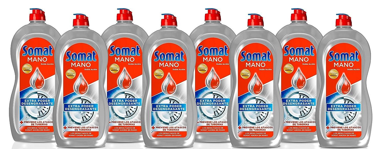 Somat Mano Doble Acción Lavavajillas - Paquete de 8 x 1028 gr ...