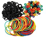 ITATOO Tattoo Grommets, O Ring's and Rubber Bands 300 Pcs