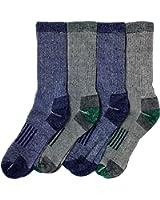 Kirkland Signature Men's Outdoor Trail Sock Merino Wool Blend Assorted Pack