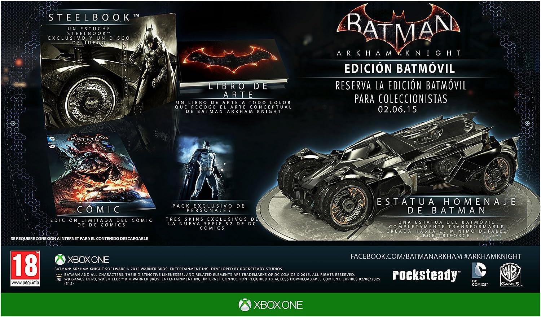Batman: Arkham Knight - Batmobile Edition: Amazon.es: Videojuegos