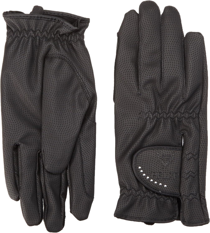Schwarz XXS-XL Reithandschuhe Kunstleder PFIFF 101950 Damen Winter Handschuhe