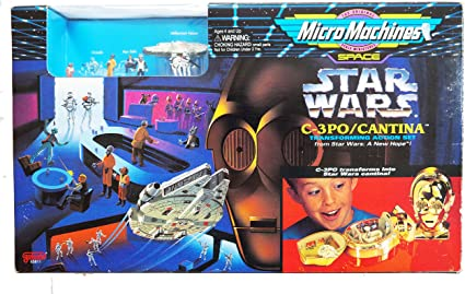 STAR WARS MICRO MACHINES MINI TRANSFORMING PLAYSET COLLECTION IV 1996
