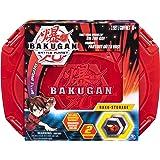 Bakugan Baku-收纳盒,适用于 Bakugan 收藏生物,适合 6 岁及以上儿童 红色