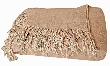 Manta de lana–100% Lana de oveja merina de Nueva
