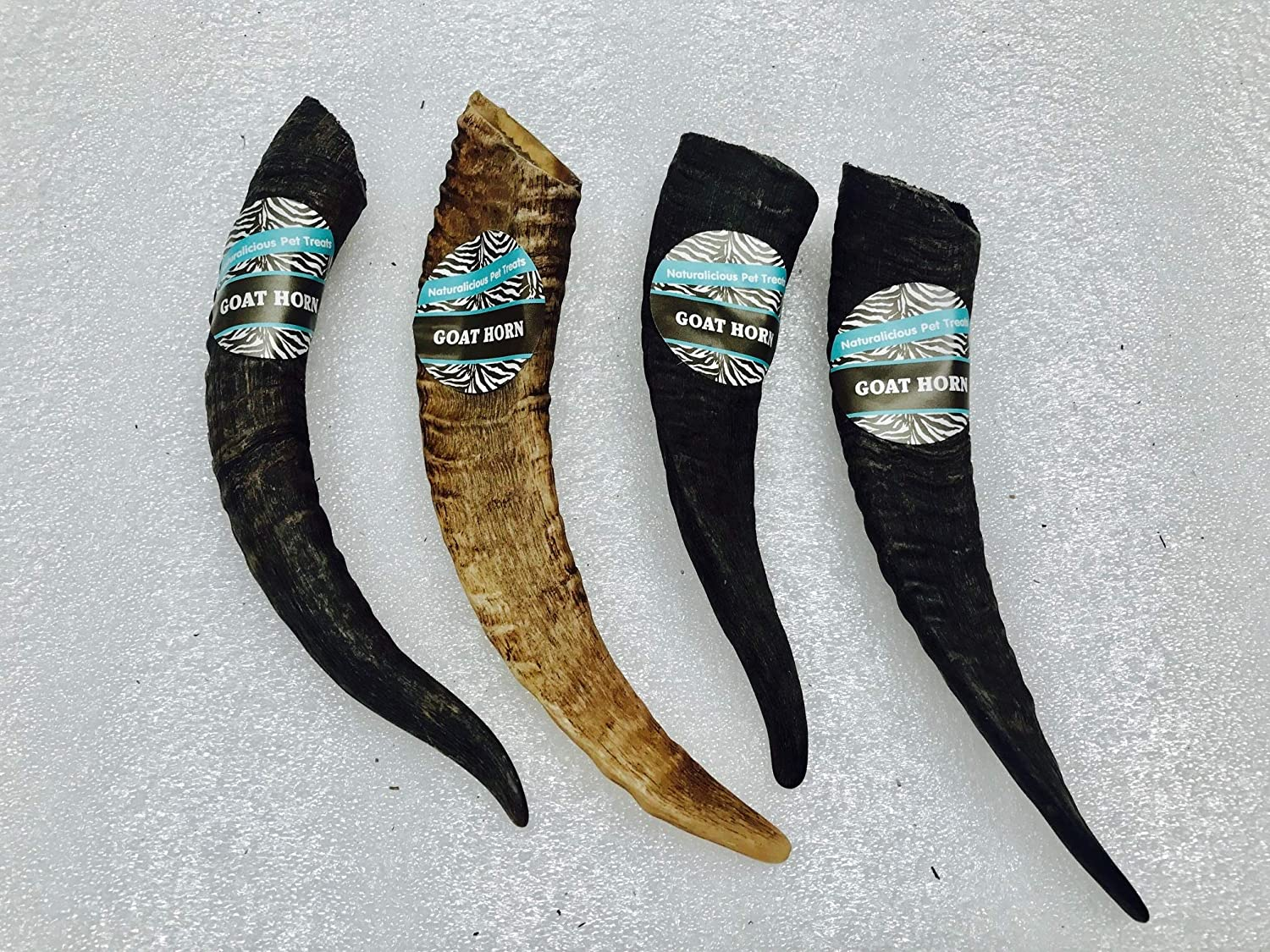 Goat Horn Large 4 Pack