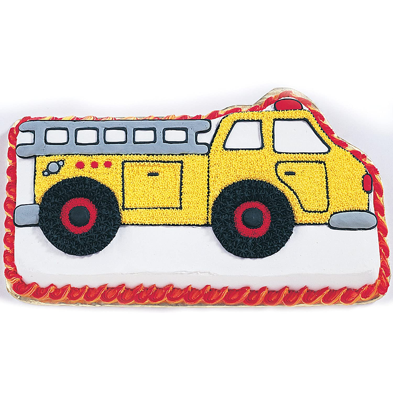Amazon.com: Wilton Fire Truck Cake Pan: Novelty Cake Pans: Kitchen & Dining