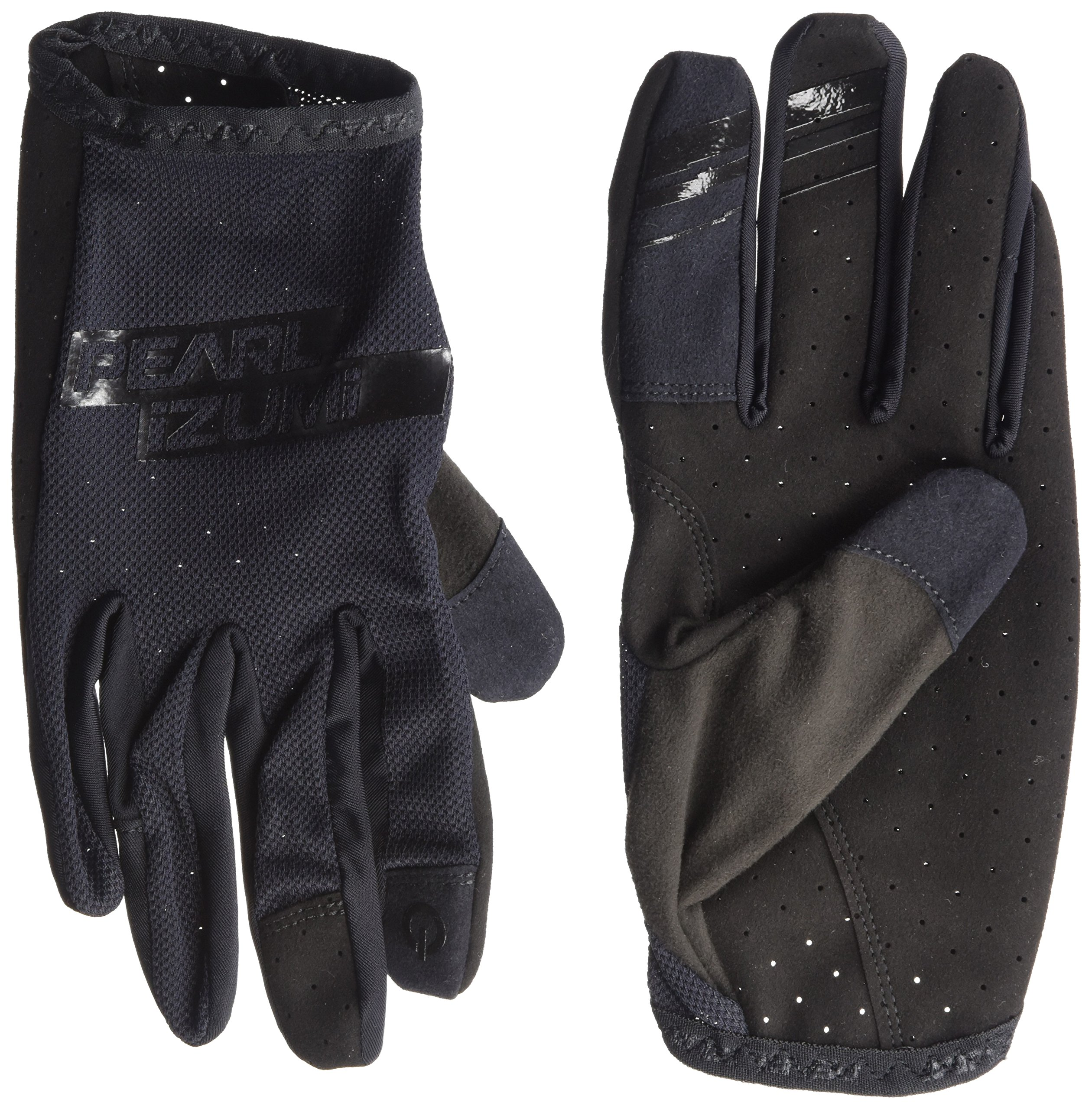 Pearl iZUMi Men's Divide Gloves, Black/Black, Large