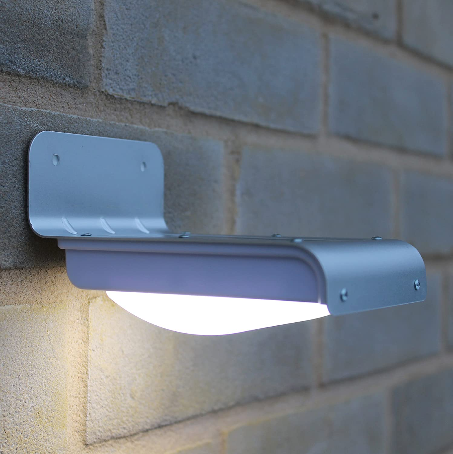 Solar Outside Security Lights Part - 23: Amazon.com : Frostfire 16 Bright LED Wireless Solar Powered Motion Sensor  Light (Weatherproof, No Batteries Required) : Landscape Path Lights : Garden  U0026 ...