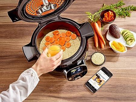 Krups CZ7158 Cook4Me+ Connect Robot de cocina, 1600 W, 4 litros ...