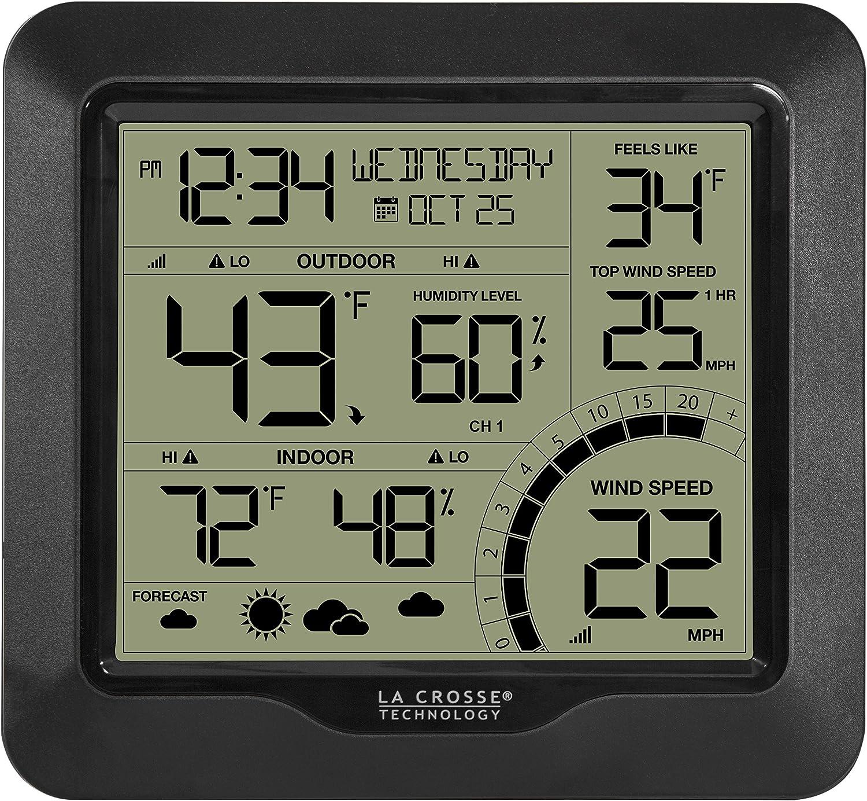 La Crosse Technology 327-1414BW Wind Speed Weather Station