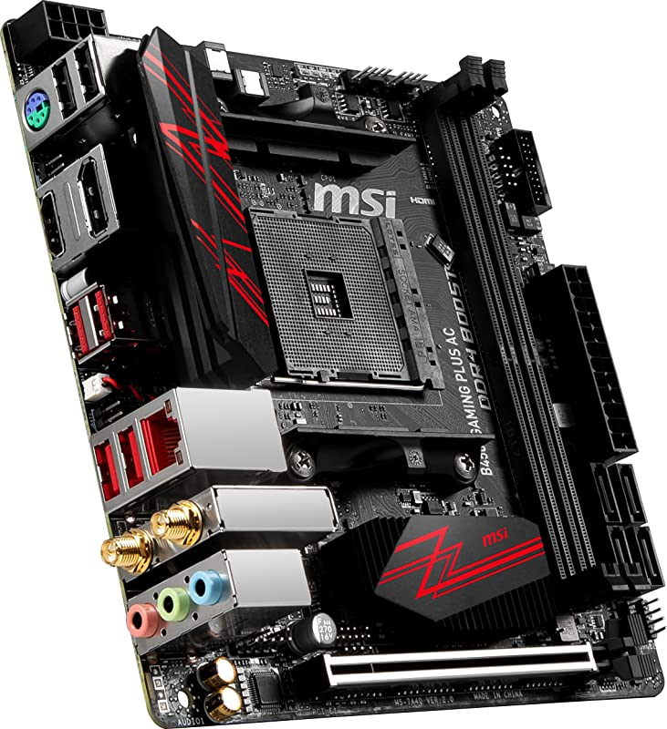 MSI Performance Gaming AMD Ryzen 1st and 2nd Gen AM4 M