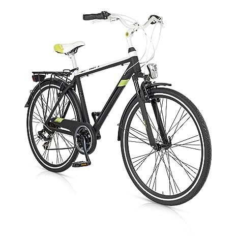 Bicicletta Trekking City Bike Uomo In Alluminio Cambio 21 Split Mbm