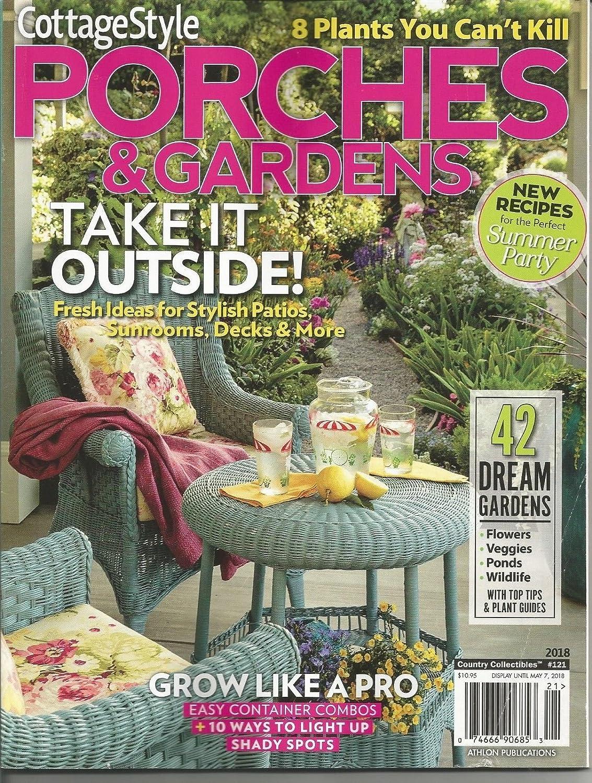 Astounding Amazon Com Cottage Style 2018 121 Porches Gardens Home Interior And Landscaping Oversignezvosmurscom