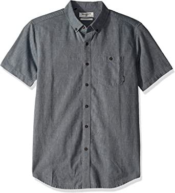 Billabong Hombre M500TBAL Manga corta Camisa de botones: Amazon.es: Ropa y accesorios