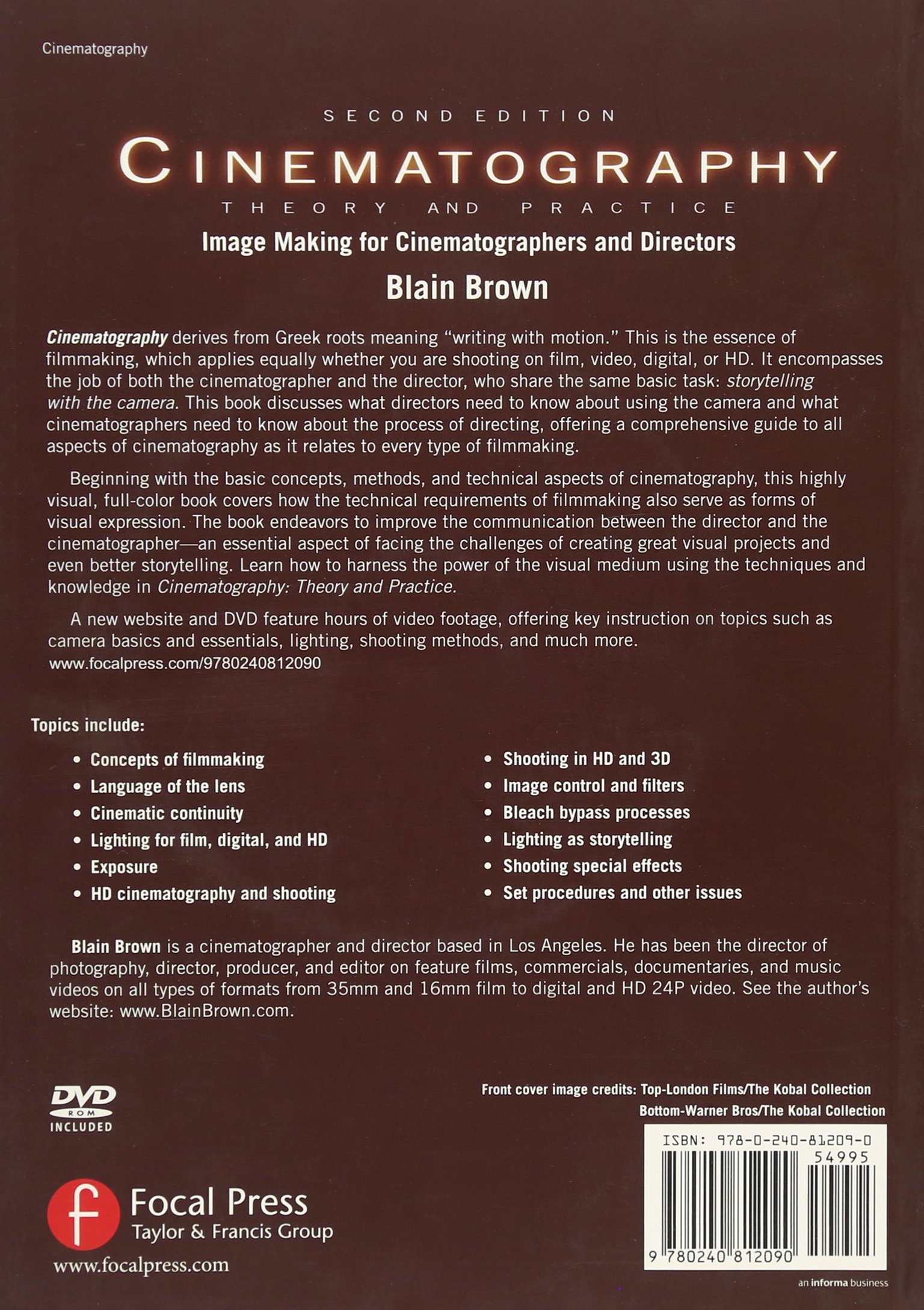 Cinematography Theory And Practice Blain Brown Pdf