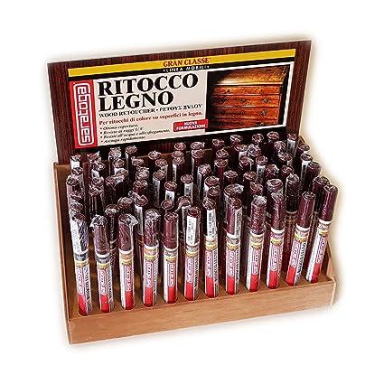 Saratoga RITOCCO LEGNO 10ML pennarello paint marker colore Noce Chiaro