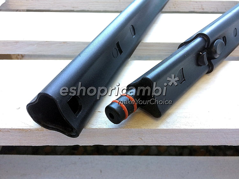 Kit 2 Tubi Originali Polti per Vaporetto Handy 25 Plus CAREservice