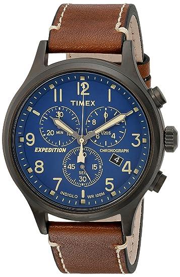 Timex Reloj de pulsera, cronógrafo de expedición Scout para hombres.