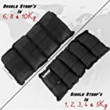 Lions Ankle Weights Running Exercise Adjustable Wrist Strength Gym Fitness Resistant Training