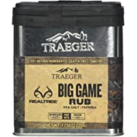 Traeger Signature Spices SPC180 Real Tree Big Game Dry Rub