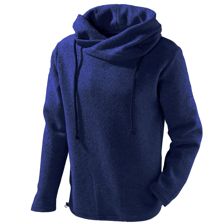Nachtblau XL Mufflon Unisex Wollpul r Mu- Lucca W100