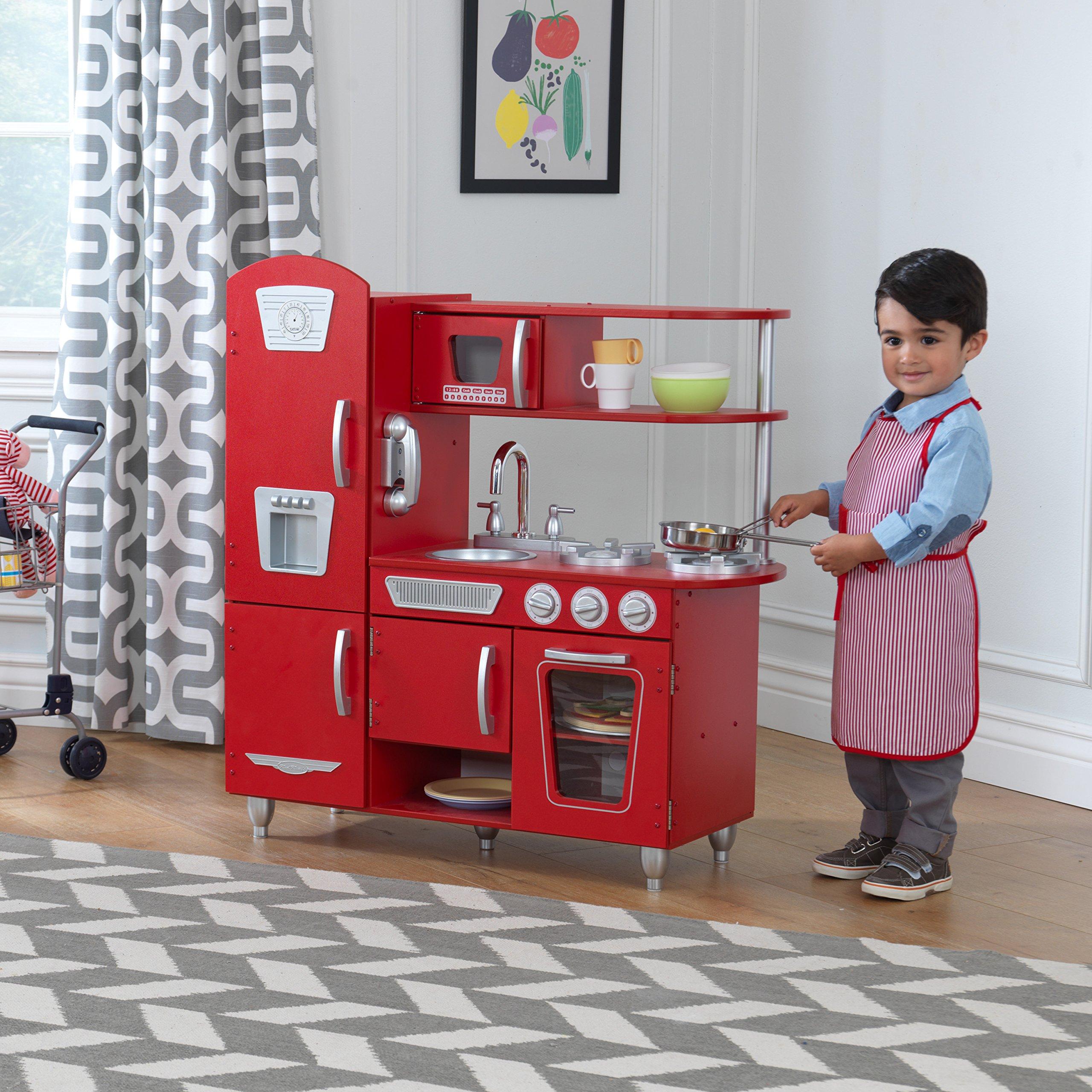 KidKraft Vintage Play Kitchen - Red by KidKraft (Image #5)