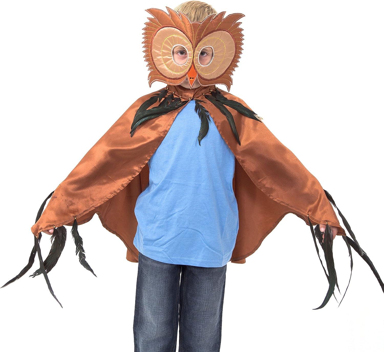 Lucy Locket - Disfraz de búho para niños (3-8 años): Amazon.es ...