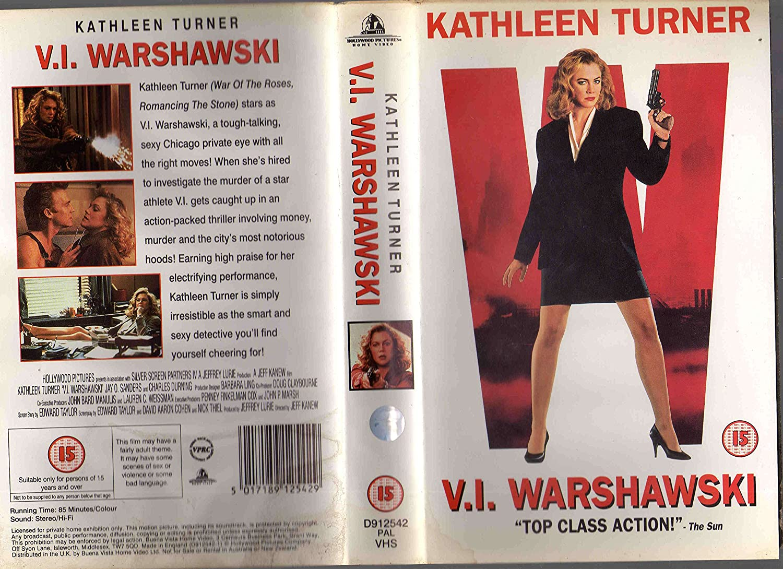 V.I. Warshawski [Reino Unido] [VHS]: Amazon.es: Kathleen ...