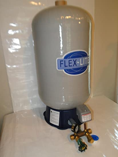 flexlite fl7 fl-7 22 gallon water well pressure tank (FL7 + BRASS TANK TEE  KIT + UNION)