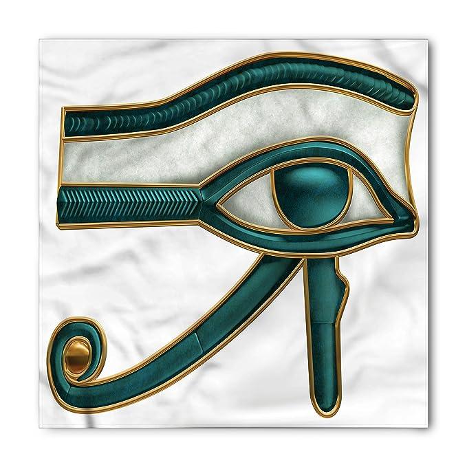 Amazon Lunarable Egyptian Bandana Eye Pattern Ancient Egyptian