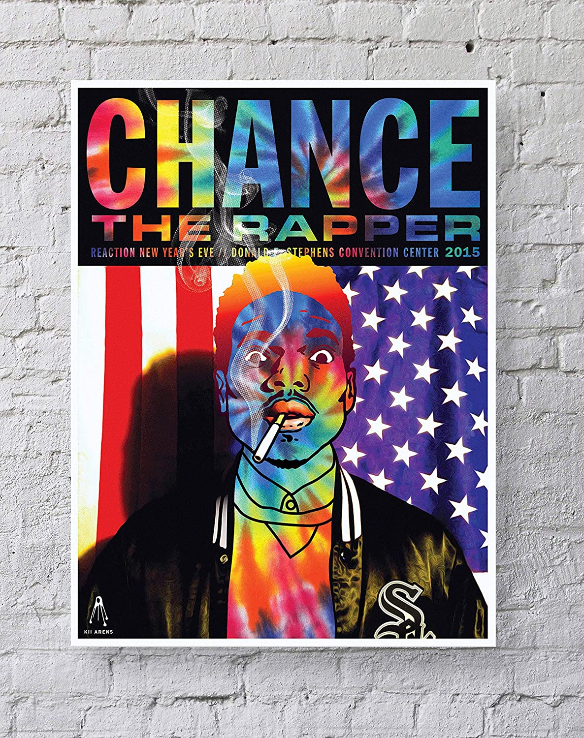 Amazon Com Meimeiz Chance The Rapper Poster Standard Size 18 Inches By 24 Inches Chance The Rapper Acid Rap Posters Wall Poster Print Posters Prints
