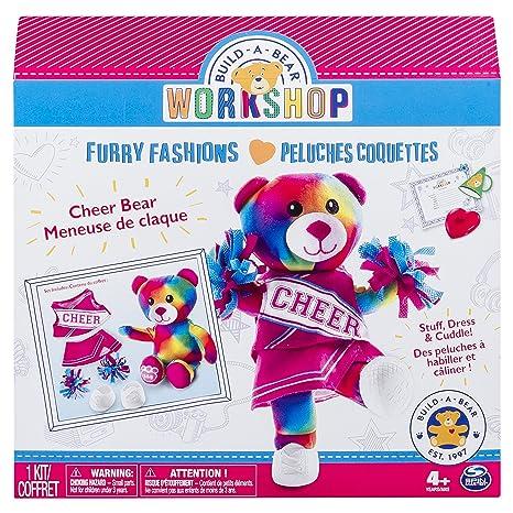 amazon com build a bear workshop furry fashions cheer bear