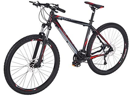 Monty KY37 Bicicleta de Montaña, Unisex Adulto, Negro, S: Amazon ...