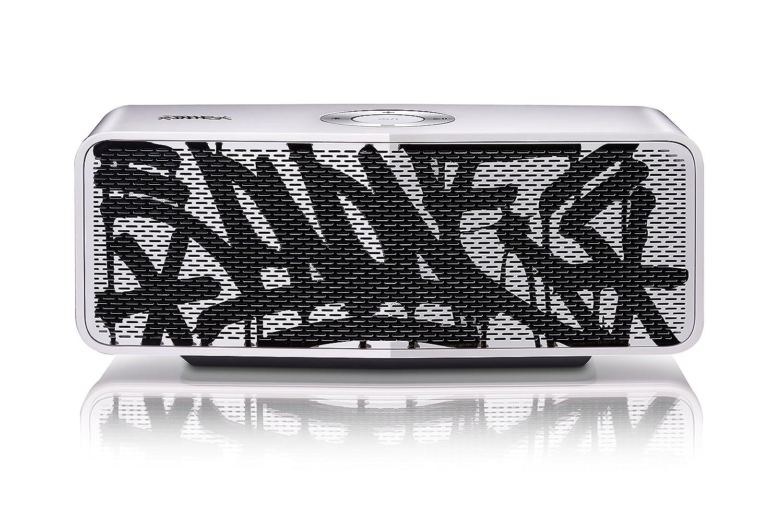 LG ART51.DEUSLLK Enceinte Portable Bluetooth Sans Fil - Blanc Art - Mode Dual Play - Mode Multipoint - Puissance 10W - Autonomie 15H - Capacité batterie 2100 mAh - Compatible TV LG/ Smartphones/ Tablettes/ PC