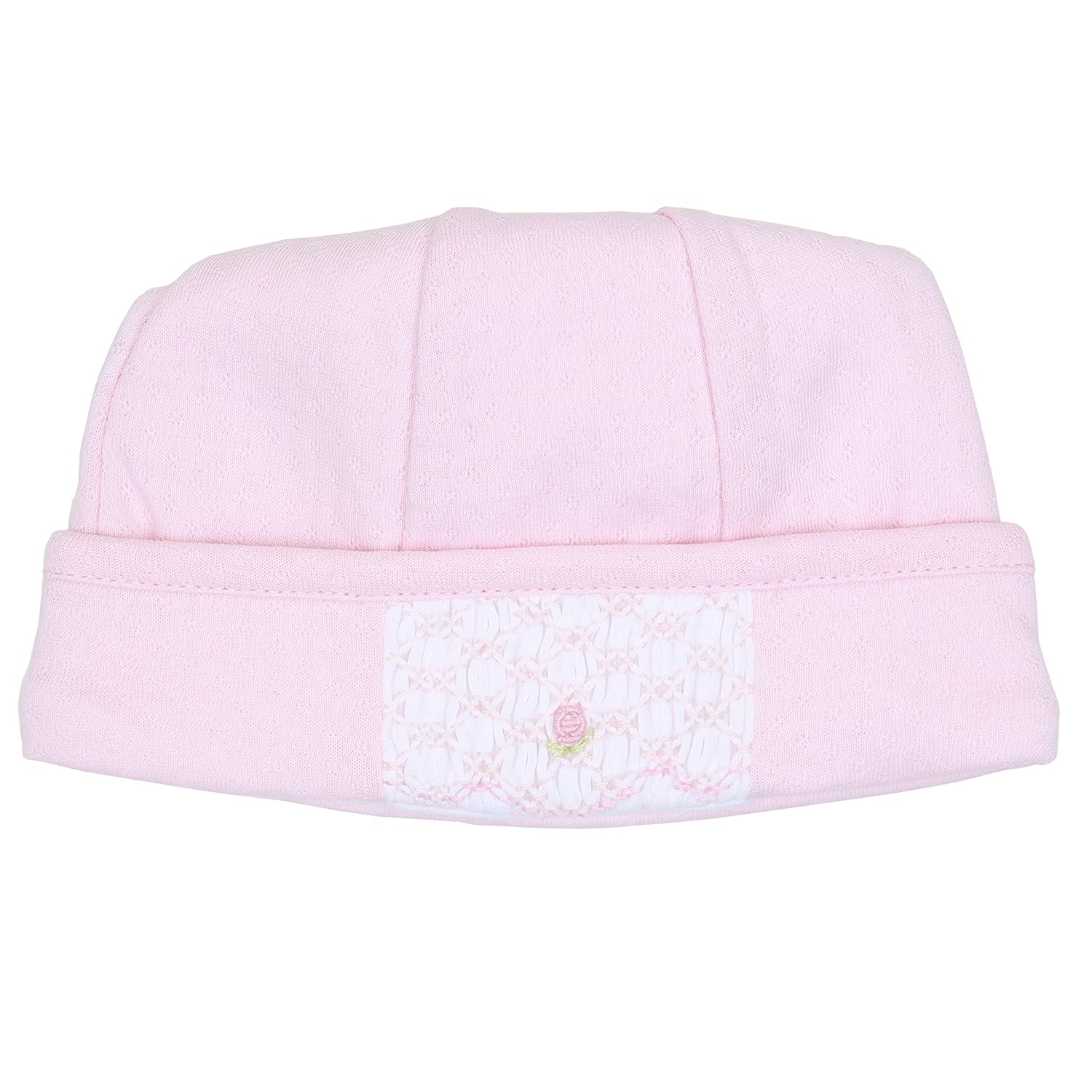 Magnolia Baby Baby Girl Sophia and Oliver Smocked Hat Pink