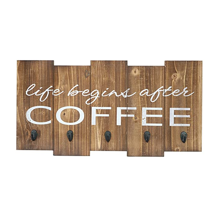 Updated 2021 – Top 10 Coffee Signs Kitchen Decor With Hooks