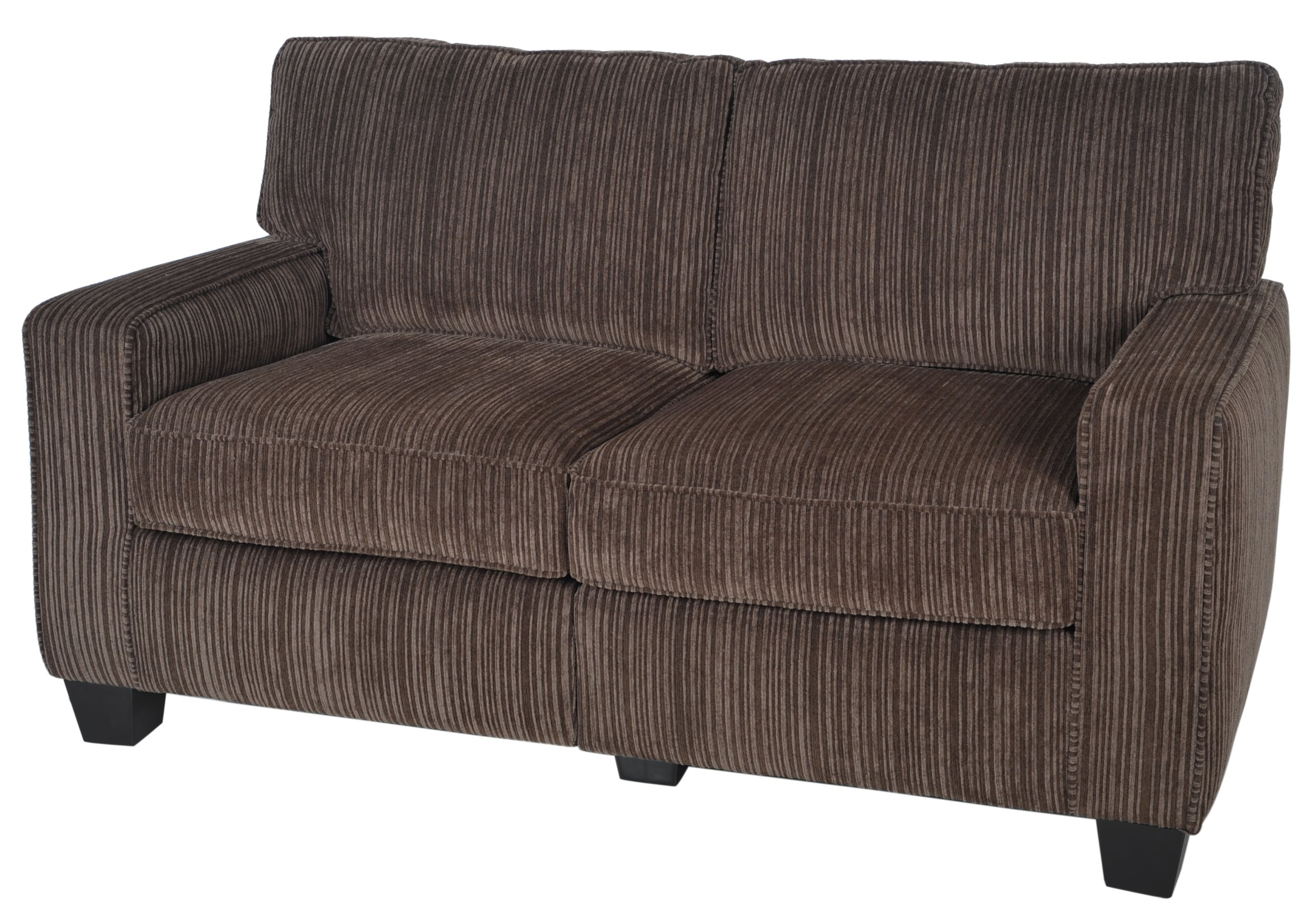Serta RTA Palisades Collection 61'' Loveseat in Riverfront Brown by Serta (Image #8)