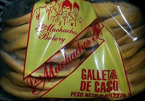 Cookies Helmet (Galletas De Casco) By Los Muchachos Bakery, 14-16 Cookies Pack, 8 0z: Amazon.com: Grocery & Gourmet Food