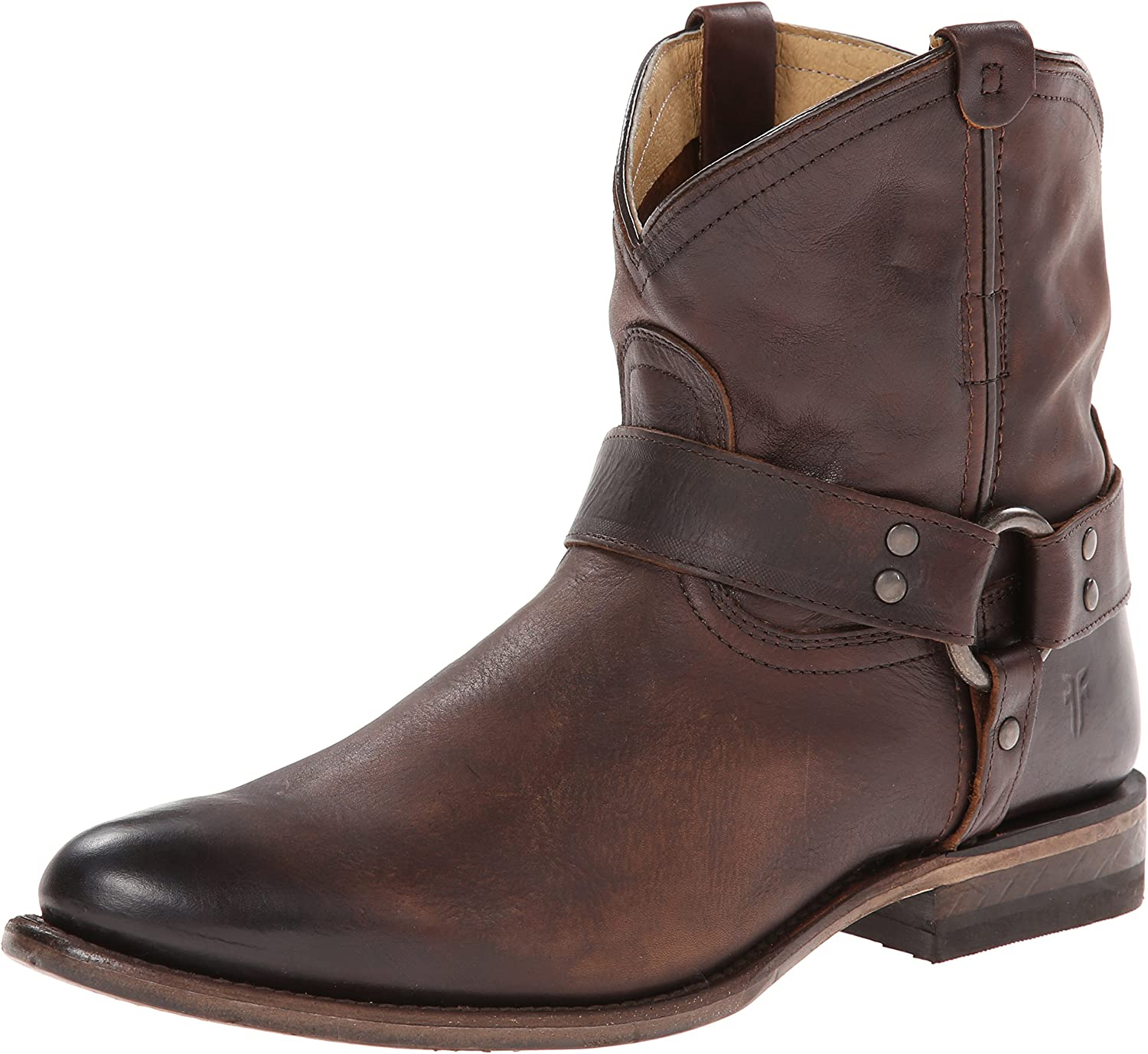 Details about  /Frye Womens Harness Americana Short Boot Shoes
