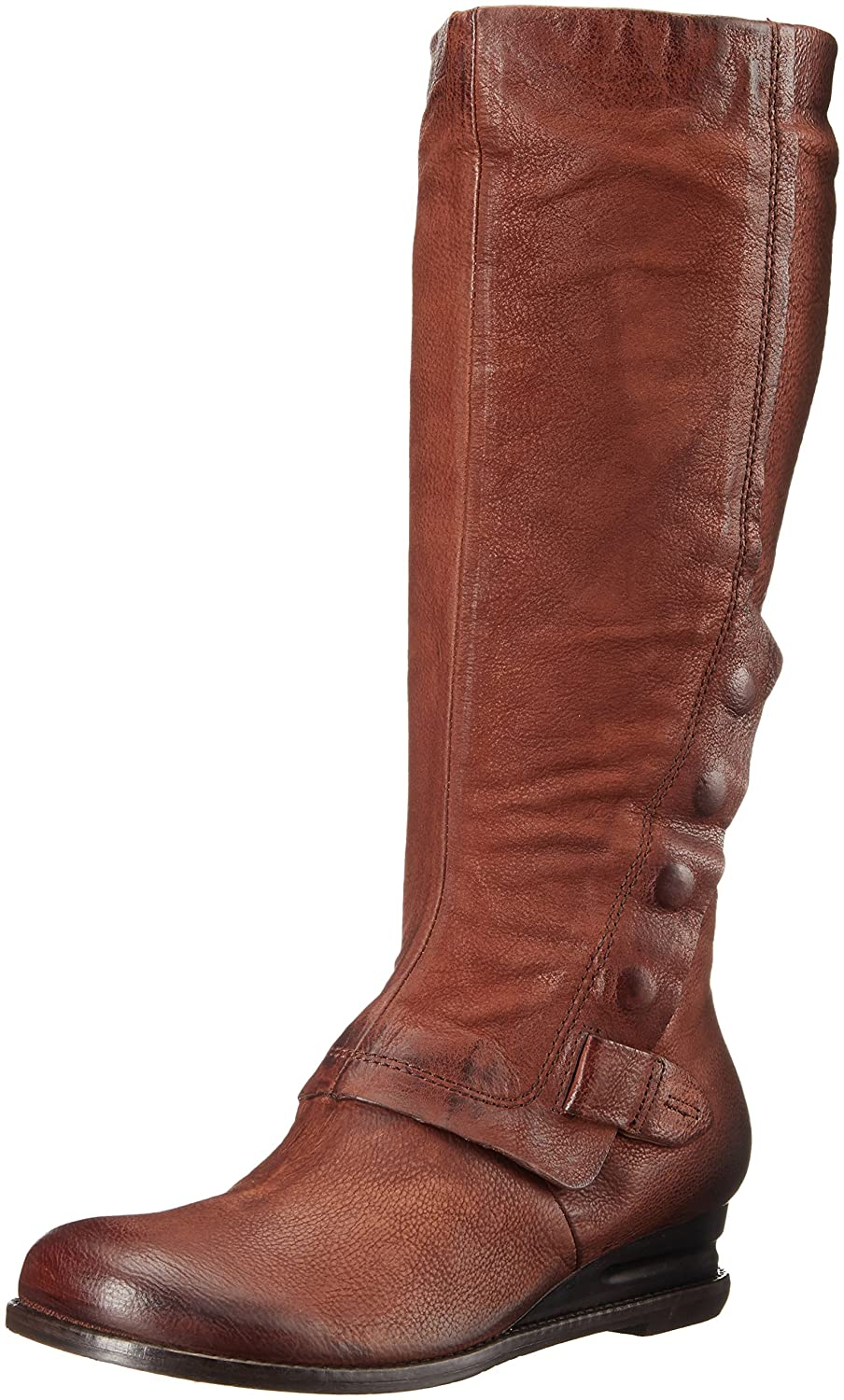 Miz Mooz Women's Bennett Riding Boot B01EJM0KN6 10 B(M) US|Brandy