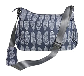Diaper Bag Purse   matching Changing Pad in Premium Gray Nylon w  11  Pockets Insulated 3317f9a365bcd