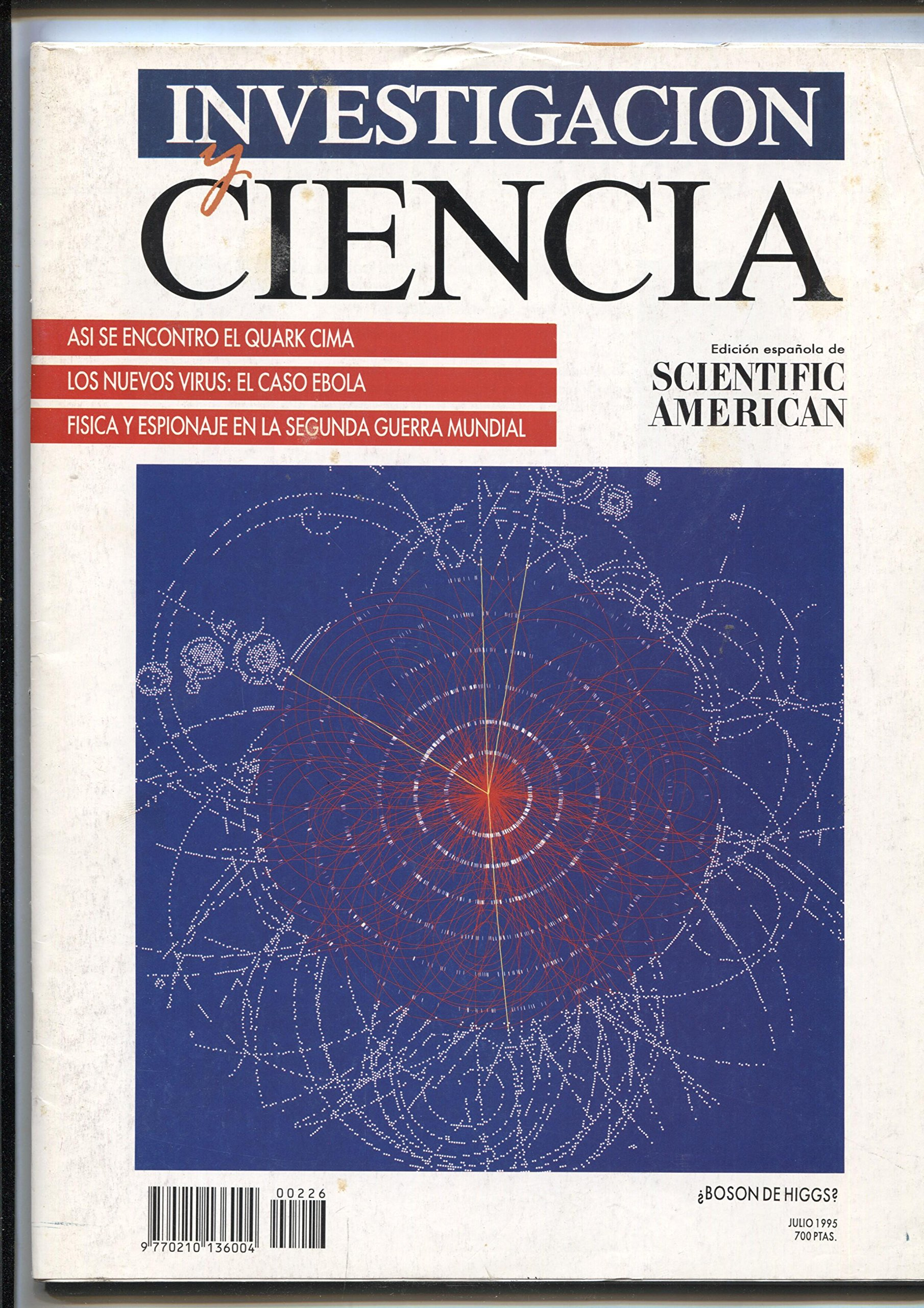 Investigacion y Ciencia nº 226 Textbook Binding – 1995