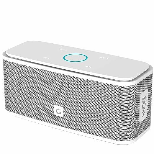 331 opinioni per Altoparlante Portatile Bluetooth, DOSS Cassa Bluetooth Portatile con pulsanti