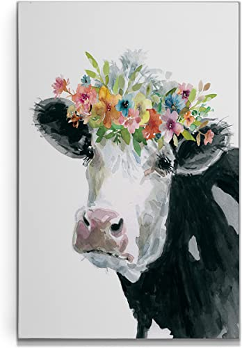 Renditions Gallery Flower Crown Cow'
