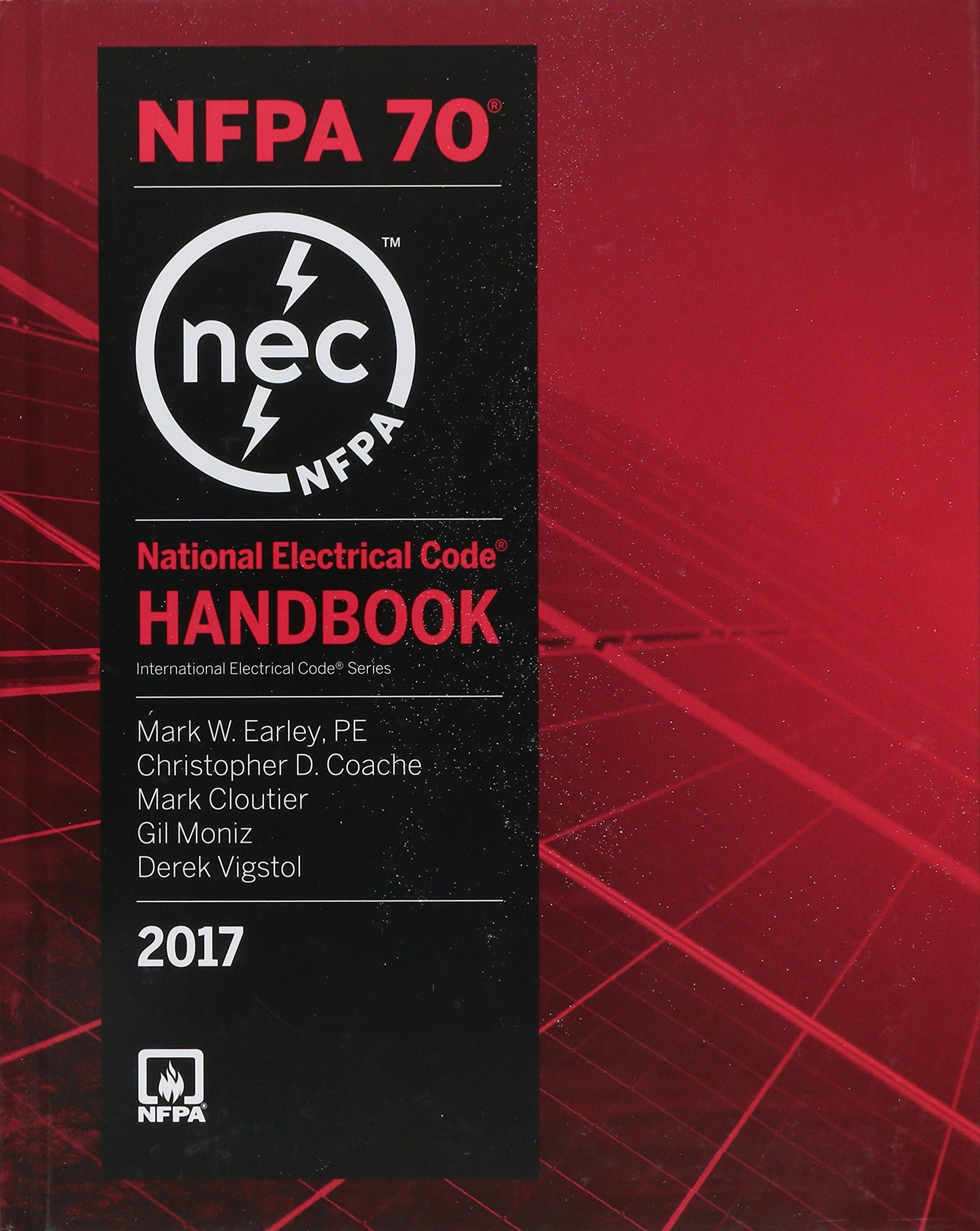 National Electrical Code 2017 Handbook (International Electrical Code) by Delmar Cengage Learning (Image #1)