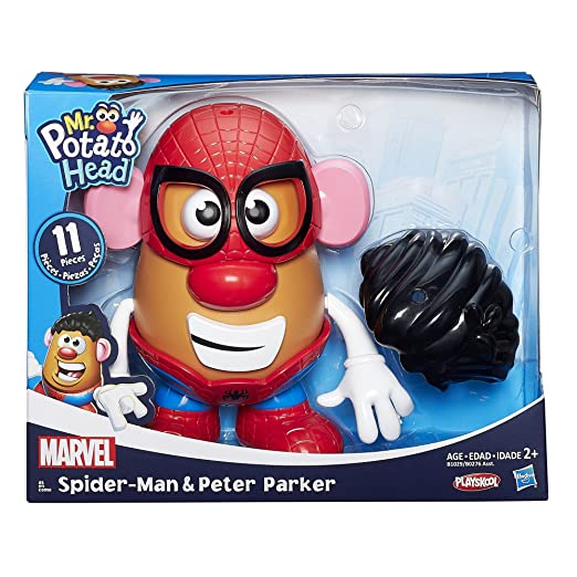 MR. POTATO HEAD MARVEL CLASSIC SCALE SPIDER-MAN PETER PARKER: Amazon.es: Juguetes y juegos