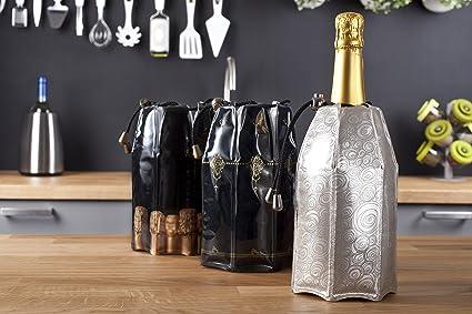 Vacu Vin 3885360 - Enfriador para botellas de cava, diseño clásico