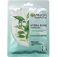 Garnier SkinActive Hydra Bomb Intensivt Fuktgivande Ansiktsmask för Normal och Kombinderad Hy, Grön, 32 g