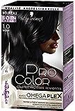 Pro Color Schwarzkopf Coloration Permanente Noir 1.0